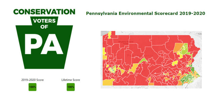 Conservation Voters of PA Score Card