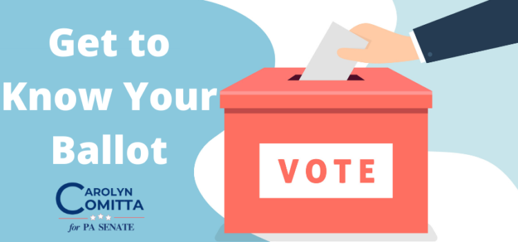 Get to Know the Ballot and Make a Plan to Vote
